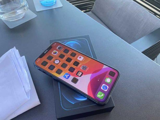 Vendo iPhone 12 Pro Max 128Gb Livre Azul C/Fatura e Garantia