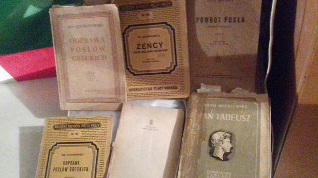 Białe kruki - archiwalne wydania książek lektur polskiej literatury