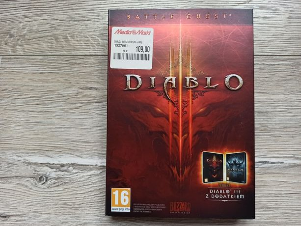 DIABLO III 3 Battle Chest + dodatek Reaper of Souls Gra PC komputerowa