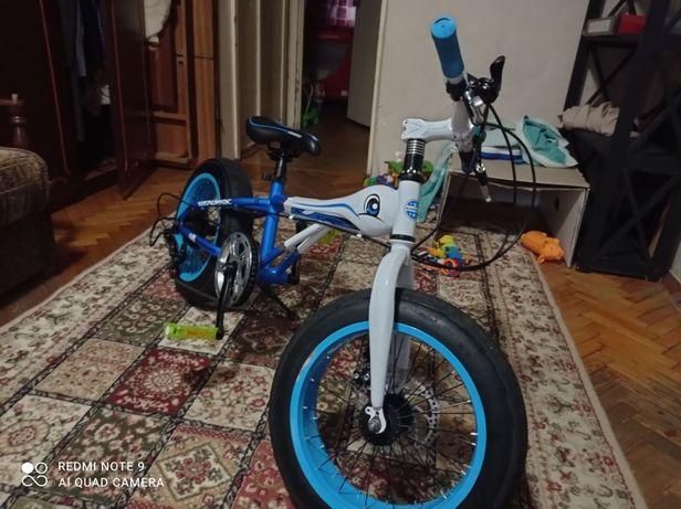 детский велосипед Fatbike ( фэтбайк) GUNSROSE 20-7