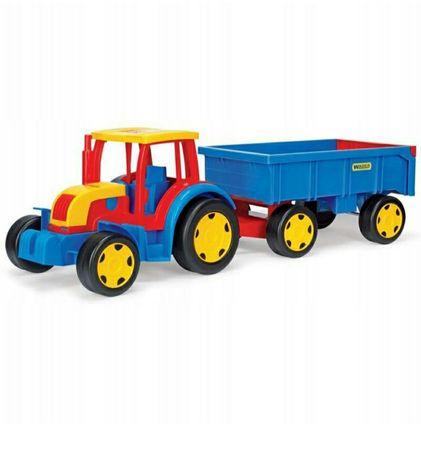 NOWY Traktor Wader Gigant z przyczepą auto pojazd OKAZJA