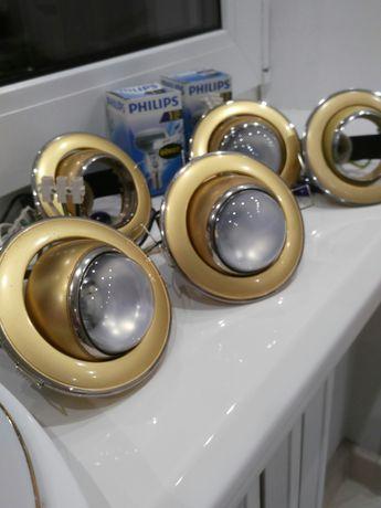 Продам светильники для установки в потолок из гипсокартона .