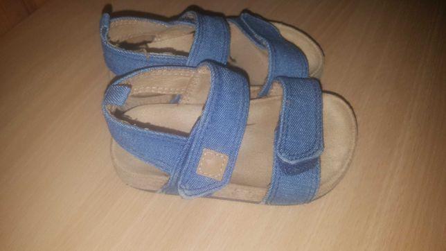 Sandałki jeans H&M 20/21