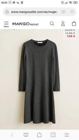 Платье Манго, новое, S, маломерит, на девочку подростка