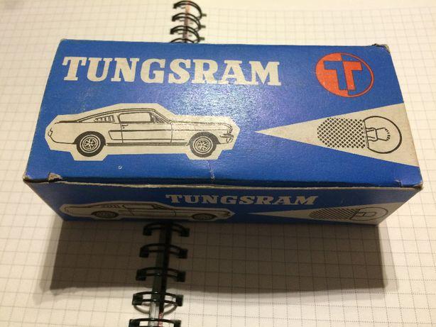 Винтажные автолампы Tungsram 24V 5W E1 и 24V R5W E2 Венгрия 1970