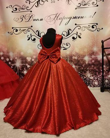 Платье блестящие 1,2,3,4,5,6,7л
