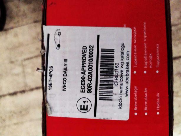 Продам тормозные колодки на Ивеко Дейли 3 фирмы ABE