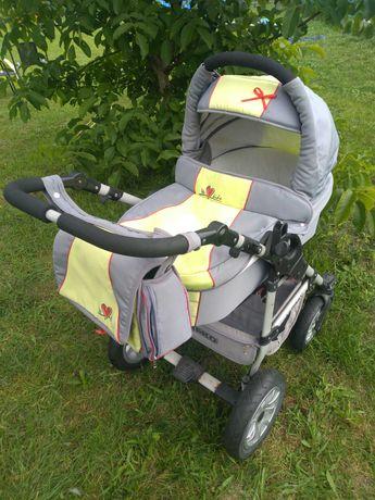 wózek 3w1 Tako Jumper X torba parasol fotelik+adapter stan Bdb