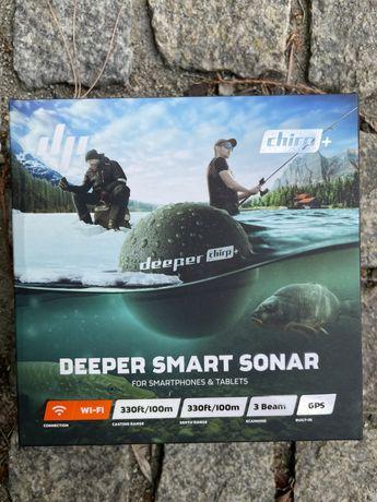 Echosonda Deeper Chirp+. Jak nowy, okazja!