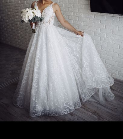 Свадебное платье, весільне плаття