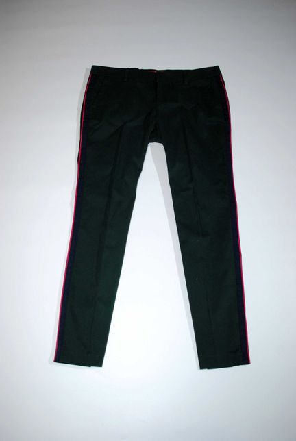 Брюки S.Oliver Германия бренд штаны с лампасами изумрудный L zara