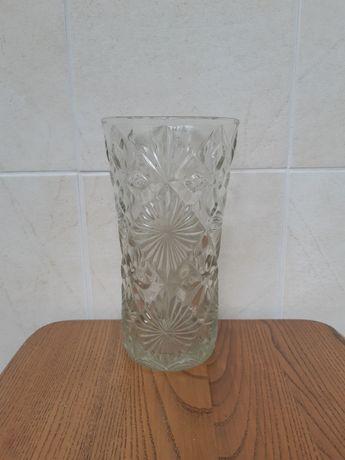 Стеклянная ваза. СССР.