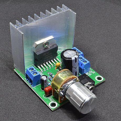 TDA7297 стерео аудио усилитель 2 x 15 Вт, 9-15 V с регулятором громкос