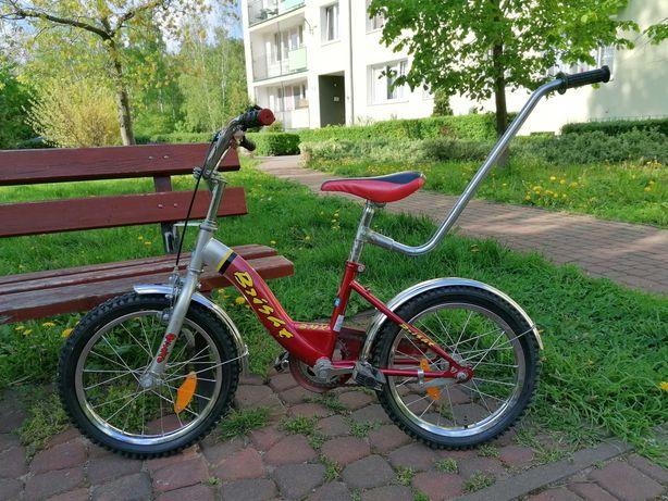 Rower dziecięcy BMX Bright 14'' bordowy