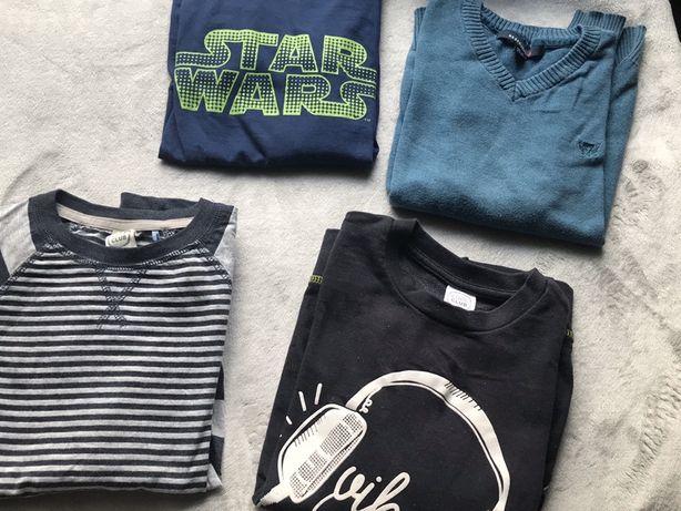 Bluzki sweterek bluza dla chłopca Reserved Cool Club rozmiar 134