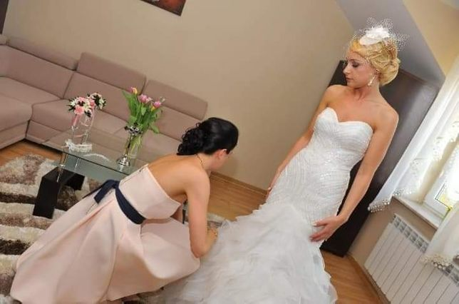 suknia slubna Pronavias 36+woalka gratis