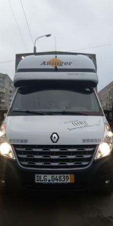 Renault Master груз. 4,5 тонн/ тент/ Спарка 2014