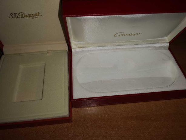 Estojos Dupont e Cartier