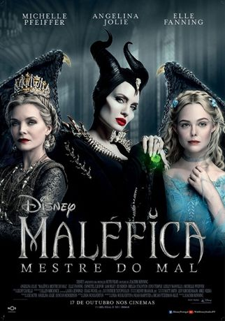 """Poster do Filme Disney """"MALÉFICA - MESTRE DO MAL"""" 98x68 (CxL)"""