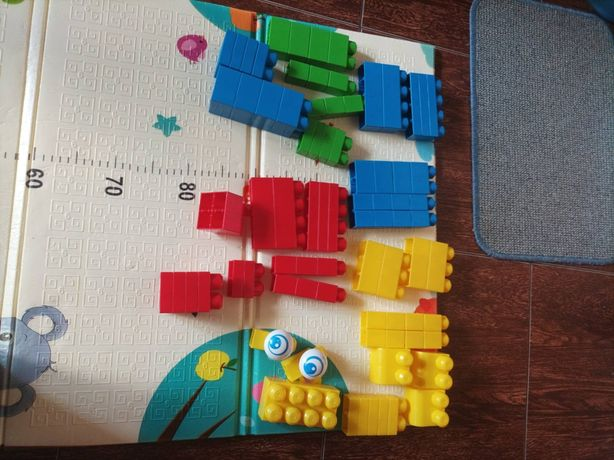 Mega Bloks мега блок 80 шт оригинал лего
