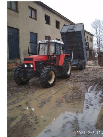 Трактор Zetor ZTS 16245 (З ПРИЦЕПОМ - І ПЛУГОМ )