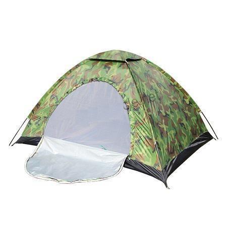 Четырехместная палатка туристическая Хаки HY-1130 2*2*1,35м