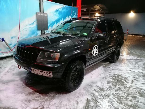 Sprzedam Jeep Grand Cherokee 4.7 v8 Anglik zarejestrowany w Pl
