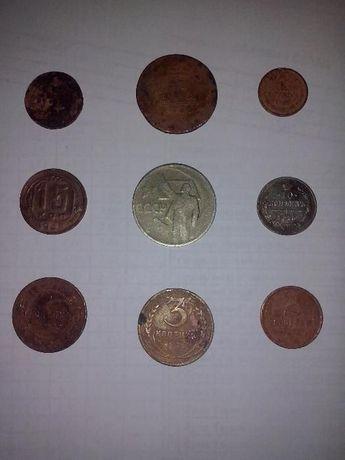 Монета ,старые монеты 1734 - 1965 г.
