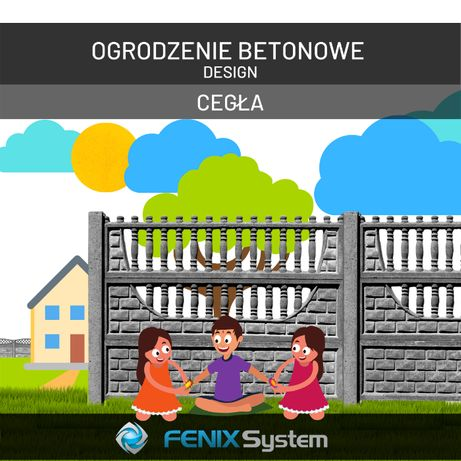 Ogrodzenia betonowe - FENIX System