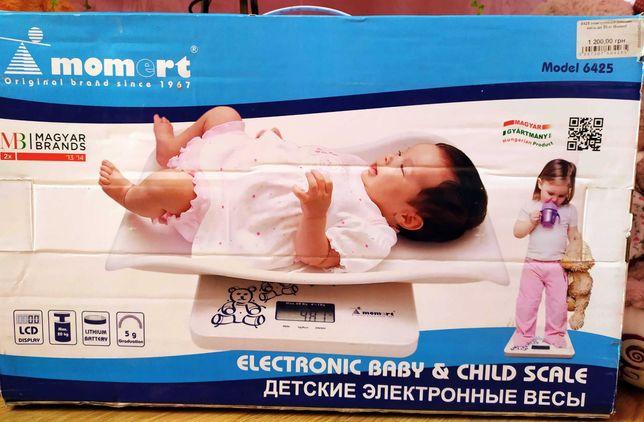 Електронна вага для новонароджених Momert 6425.Нова.