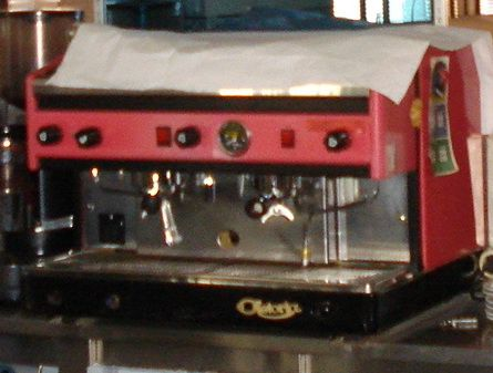 """Máquina café """"Astoria"""" estabelecimento comercial (café)"""