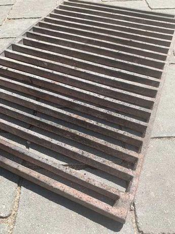 Ruszt stalowy - grill, palenisko, kominek, wędzarnia 34x51x1 cm