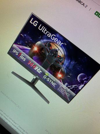 Monitor LG UltraGear 24 144hz 1ms
