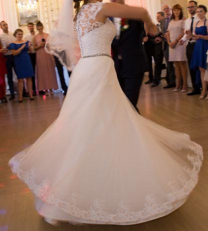 Suknia ślubna rozm. 36-38 Stan Idealny!