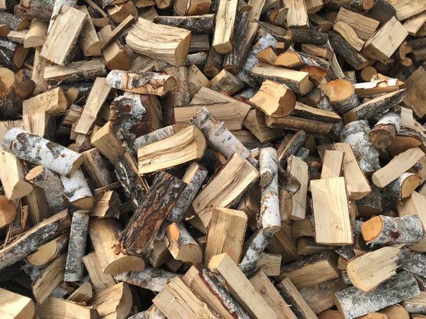 Drewno opałowe kominkowe Brzozowe Dębowe Olchowe wałki