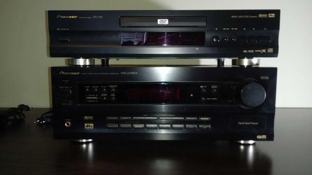 Zestaw kina domowego 5+1 Pionier DV-535 + Pionier VSX-609RDS