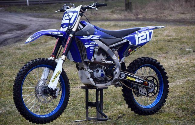 Yamaha yz250f skrzynia biegów tryby