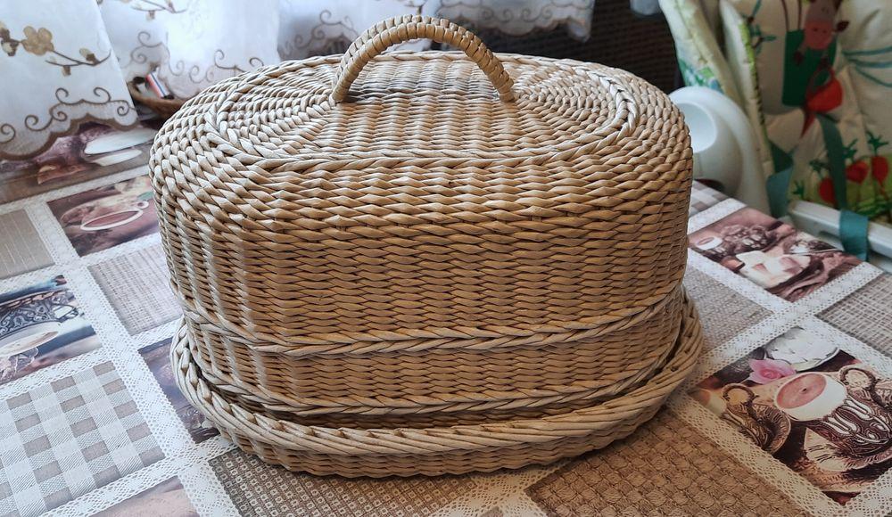 Хлебница.Плетеная хлебница.Хлебница ручной работы. Южное - изображение 1