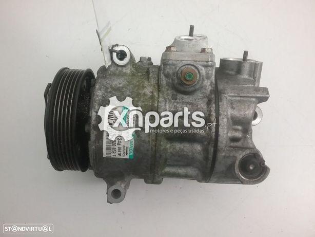 Compressor de ar condicionado AUDI A3 (8P1) 2.0 TDI 16V | 05.03 - 08.12 Usado REF. Sanden 1K0 820 859 F    MOTOR BKD