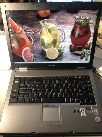 """15,4"""" Ноутбук Toshiba Tecra S5/Core 2 Duo T7700/120hdd/4Gb/Nvidia130m/"""