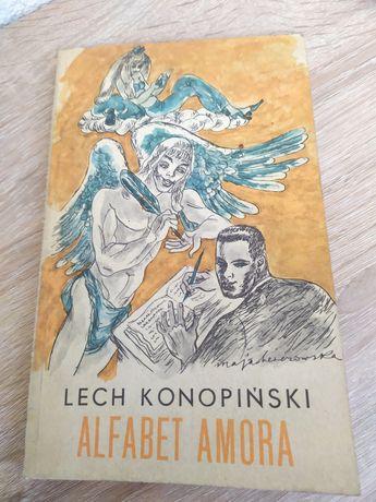 """""""Alfabet amora-wybór fraszek""""Lech Konopiński"""