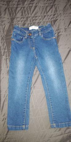 Spodnie jeansowe Minoti rozm 98 nowe