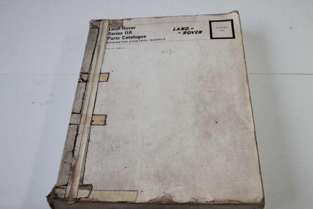 Manual Peças Land Rover Serie 2A IIA