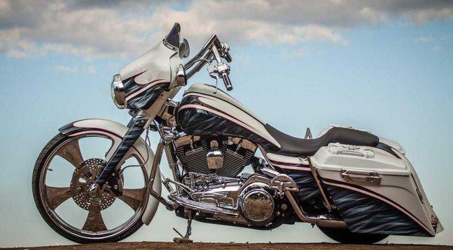 Эксклюзивный кастом Harley Davidson BAGER