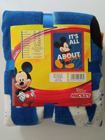 Nowy koc Myszka Mickey