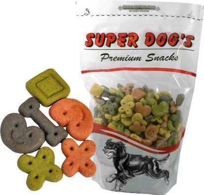 Ciastka figurki z warzywami dla małych psów (07) 700g