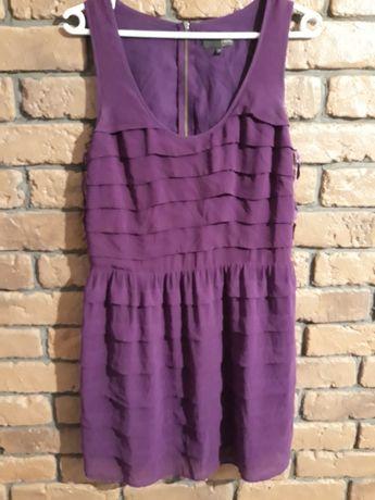 Fioletowa sukienka Next, 10