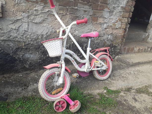 """Mały różowy rowerek 12"""""""