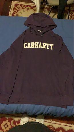Sweat com carapuço roxa Carhartt Tamanho M