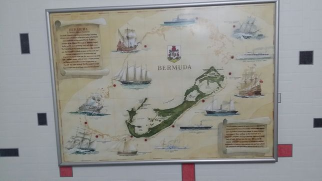 Карта Бермуды